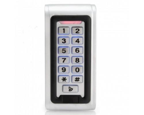 AK-601 Кодовая клавиатура, встроенный считыватель проксимити карт и брелков